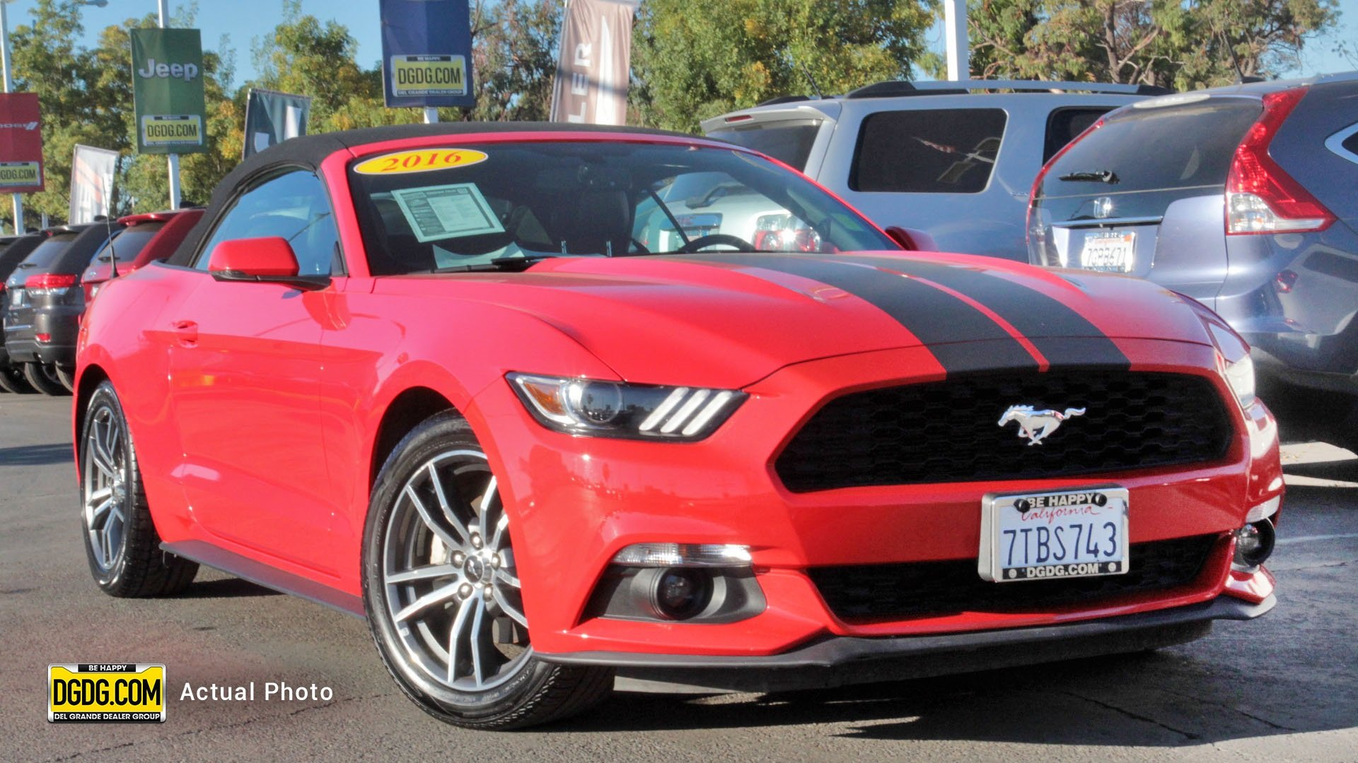 Mustang EcoBoost Premium 2D Convertible in Fremont Chrysler Dodge