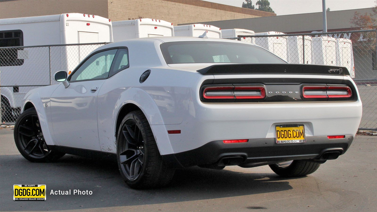 New 2018 Dodge Challenger SRT Hellcat Widebody