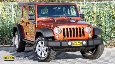 "Pre-Owned 2014 Jeep<br /><span class=""vdp-trim"">Wrangler Unlimited Rubicon 4WD 4D Sport Utility</span>"