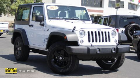 Pre-Owned 2017 Jeep Wrangler Sport S