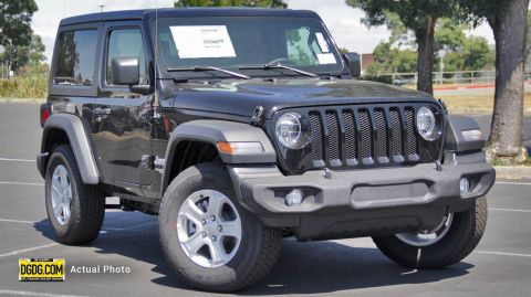 "New 2019 Jeep<br /><span class=""vdp-trim"">Wrangler Sport S 4WD Convertible</span>"