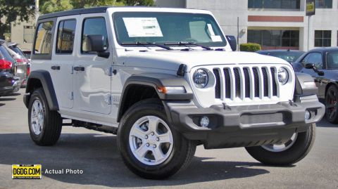 "New 2019 Jeep<br /><span class=""vdp-trim"">Wrangler Unlimited Sport S 4WD Convertible</span>"