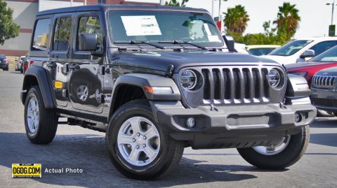 "New 2020 Jeep<br /><span class=""vdp-trim"">Wrangler Unlimited Sport S 4WD Convertible</span>"