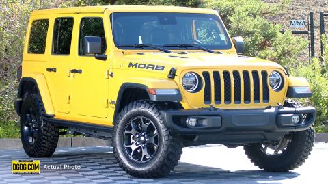 Pre-Owned 2019 Jeep Wrangler Unlimited Moab