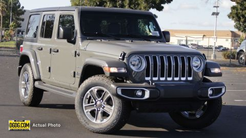 "New 2019 Jeep<br /><span class=""vdp-trim"">Wrangler Unlimited Sahara 4WD Convertible</span>"