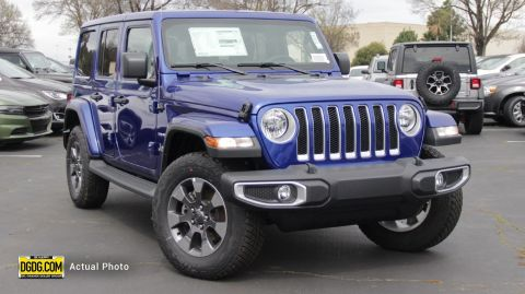 "New 2018 Jeep<br /><span class=""vdp-trim"">Wrangler Unlimited Sahara 4WD Convertible</span>"