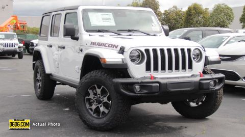 "New 2019 Jeep<br /><span class=""vdp-trim"">Wrangler Unlimited Rubicon 4WD Convertible</span>"