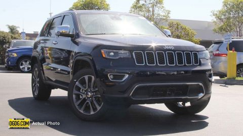 "New 2018 Jeep<br /><span class=""vdp-trim"">Grand Cherokee Limited 4WD Sport Utility</span>"