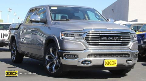"New 2019 Ram<br /><span class=""vdp-trim"">1500 Longhorn 4WD Crew Cab Pickup</span>"