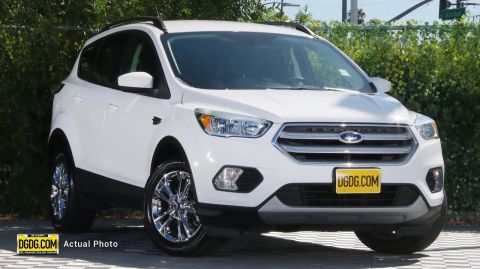 "Pre-Owned 2018 Ford<br /><span class=""vdp-trim"">Escape SE 4WD 4D Sport Utility</span>"