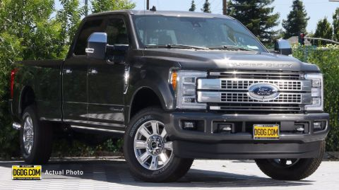 "New 2019 Ford<br /><span class=""vdp-trim"">F-350SD Platinum 4WD 4D Crew Cab</span>"