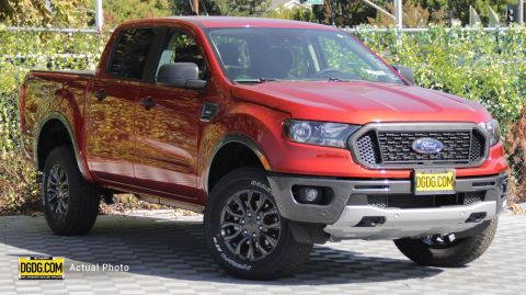 "New 2019 Ford<br /><span class=""vdp-trim"">Ranger XLT 4WD 4D Crew Cab</span>"