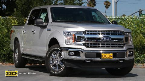 "New 2019 Ford<br /><span class=""vdp-trim"">F-150 XLT 4WD 4D SuperCrew</span>"