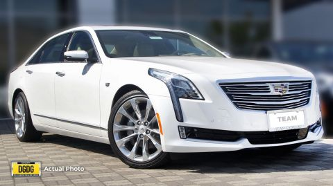 New 2017 Cadillac CT6 Sedan Platinum AWD