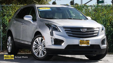 "Pre-Owned 2017 Cadillac<br /><span class=""vdp-trim"">XT5 Premium Luxury AWD 4D Sport Utility</span>"