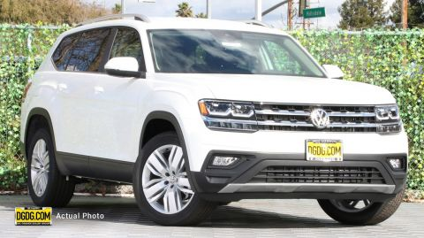 "New 2019 Volkswagen<br /><span class=""vdp-trim"">Atlas 3.6L V6 SE w/Technology FWD Sport Utility</span>"