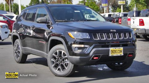 "New 2019 Jeep<br /><span class=""vdp-trim"">Compass Trailhawk 4WD Sport Utility</span>"