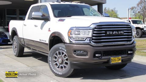 "New 2019 Ram<br /><span class=""vdp-trim"">3500 Longhorn 4WD Crew Cab Pickup</span>"