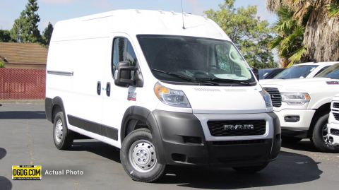 "New 2019 Ram<br /><span class=""vdp-trim"">ProMaster Cargo Van High Roof FWD Full-size Cargo Van</span>"