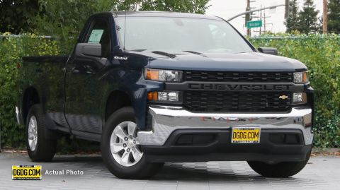 "New 2019 Chevrolet<br /><span class=""vdp-trim"">Silverado 1500 Work Truck RWD Regular Cab Pickup</span>"