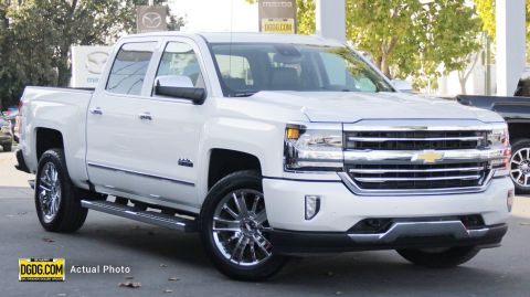 "Pre-Owned 2017 Chevrolet<br /><span class=""vdp-trim"">Silverado 1500 High Country 4WD Crew Cab Pickup</span>"