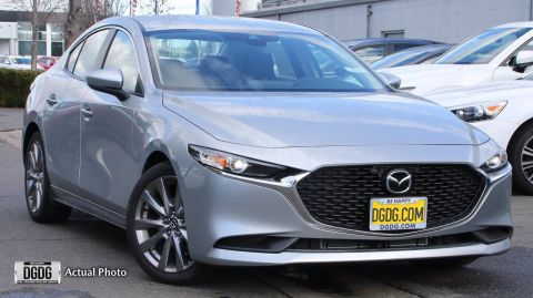"New 2020 Mazda<br /><span class=""vdp-trim"">Mazda3 Sedan w/Select Pkg FWD 4dr Car</span>"