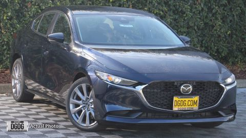 "New 2020 Mazda<br /><span class=""vdp-trim"">Mazda3 Sedan w/Select Pkg AWD 4dr Car</span>"