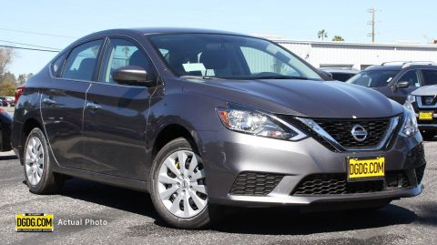 "New 2019 Nissan<br /><span class=""vdp-trim"">Sentra S FWD 4dr Car</span>"