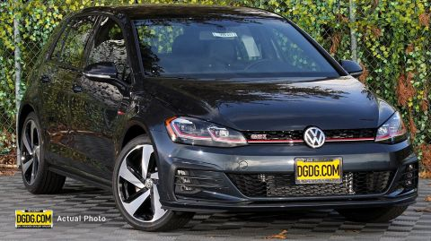 "New 2019 Volkswagen<br /><span class=""vdp-trim"">Golf GTI SE FWD Hatchback</span>"