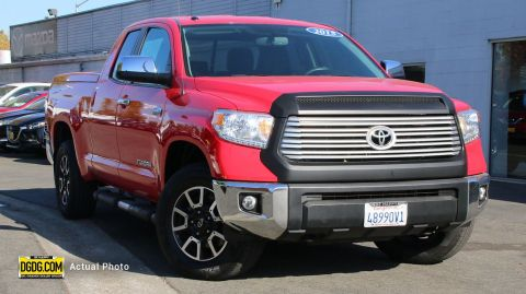 "Pre-Owned 2015 Toyota<br /><span class=""vdp-trim"">Tundra 4WD Truck LTD 4WD Crew Cab Pickup</span>"