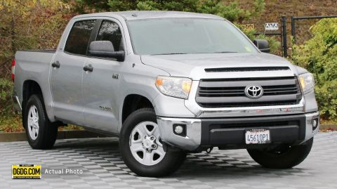 "Pre-Owned 2014 Toyota<br /><span class=""vdp-trim"">Tundra 2WD Truck SR5 RWD Crew Cab Pickup</span>"