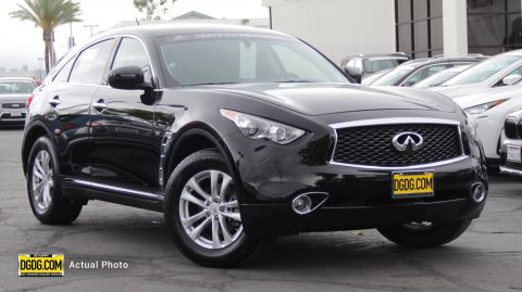 "Pre-Owned 2017 INFINITI<br /><span class=""vdp-trim"">QX70 Base AWD Sport Utility</span>"