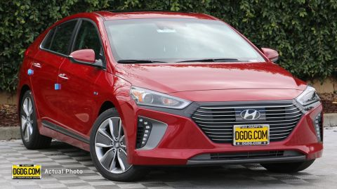 "New 2019 Hyundai<br /><span class=""vdp-trim"">Ioniq Hybrid Limited FWD Hatchback</span>"