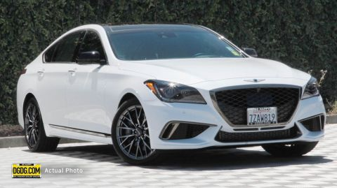 "Pre-Owned 2018 Genesis<br /><span class=""vdp-trim"">G80 3.3T Sport RWD 4D Sedan</span>"