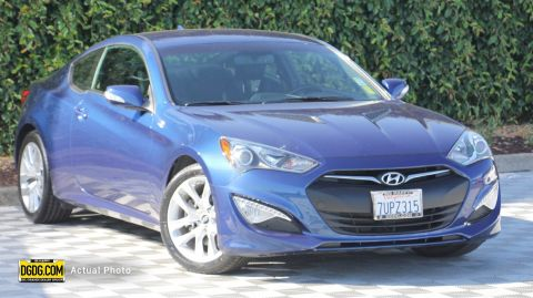Certified Pre-Owned 2016 Hyundai Genesis Coupe 3.8