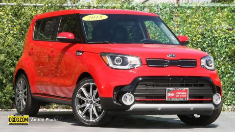 Certified Pre-Owned 2018 Kia Soul Exclaim